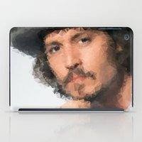 johnny depp iPad Cases featuring Johnny Depp by lauramaahs