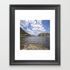 Colorado Mountains Framed Art Print