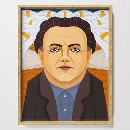 Diego Rivera Serving Tray