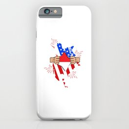 Indonesia Blood Inside - American Indonesian Flag Pride Dna iPhone Case