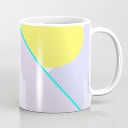Hello Mountains - Lavender Hills Coffee Mug