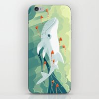 freeminds iPhone & iPod Skins featuring Nightbringer 2 by Freeminds