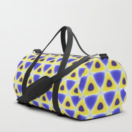 A sea of Triangles Duffle Bag