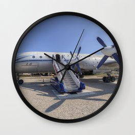 Malev Hungarian Airlines Ilyushin IL-18 Wall Clock