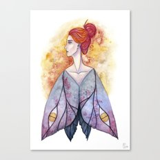 Moth wings Canvas Print