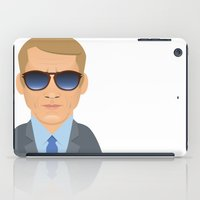 steve mcqueen iPad Cases featuring Steve McQueen by Capitoni