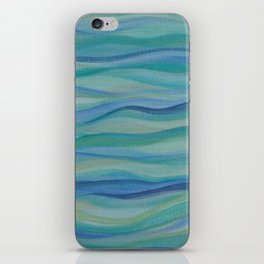 Surf Abstract Waves iPhone Skin