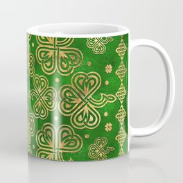 Shamrock Clover Ornament Coffee Mug