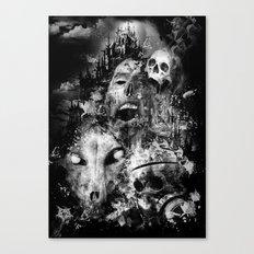 tortured souls Canvas Print