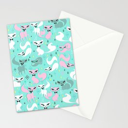 Swanky Kittens Stationery Cards