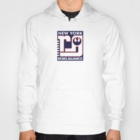 nfl Hoodies featuring NY Rebel Alliance - NFL by Steven Klock