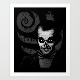 Jack T. Skeleton Art Print