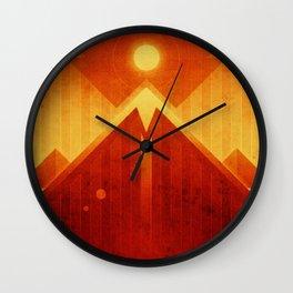 Mars - Olympus Mons Wall Clock
