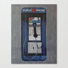 Payphone Canvas Print