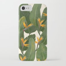 tropical floral Slim Case iPhone 7