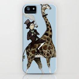 Dandy Giraffe iPhone Case