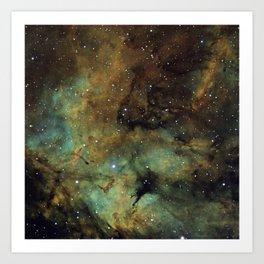 Gamma Cygni Nebula Art Print