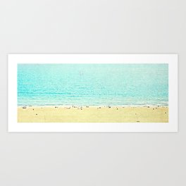 I shoot Beaches ~>> Art Print