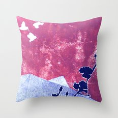 Fly Your Own Way Throw Pillow