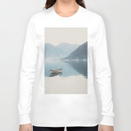 boat reflections ... Long Sleeve T-shirt
