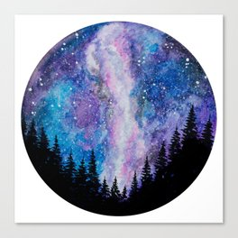 Galaxy Milky Way Canvas Print