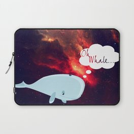 Oh Whale.. Laptop Sleeve