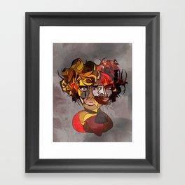 Gurl, Please Framed Art Print