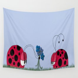 Flowers For My Love Wall Tapestry