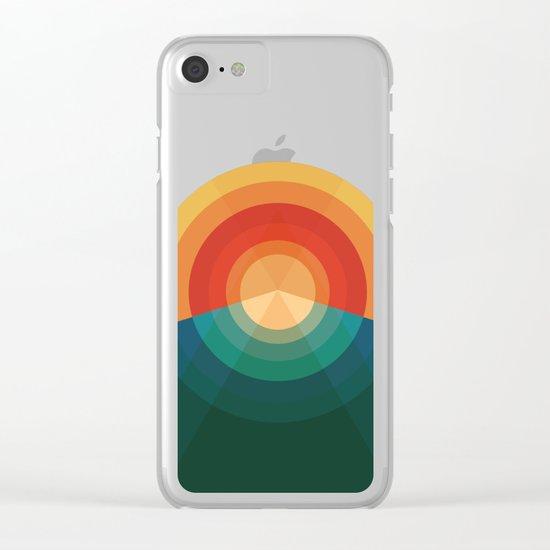 Sonar Clear iPhone Case