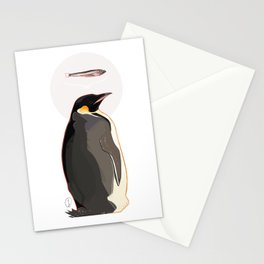 Emperor Penguin Stationery Cards