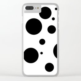 Dots III. Clear iPhone Case