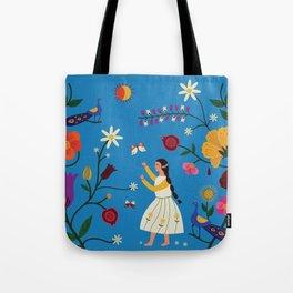 Her Secret Garden Tote Bag