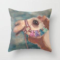 Michael's First Christmas, Camel Throw Pillow
