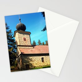 Maria Rast forest chapel 3 Stationery Cards