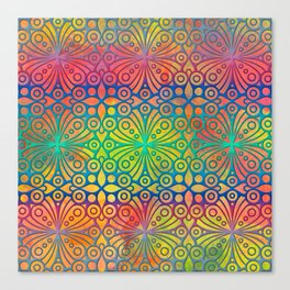 DP050-3 Colorful Moroccan pattern Canvas Print