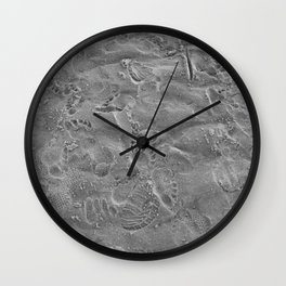 we all leave our mark. Wall Clock