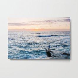 Looking out at La Jolla Shores Fine Art Print Metal Print
