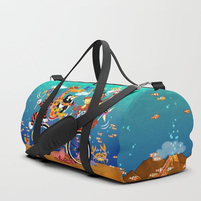 Ridin' Happy Gang Duffle Bag