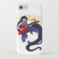 marceline iPhone & iPod Cases featuring Marceline by Roe Mesquita