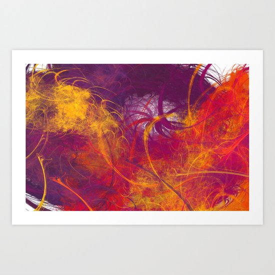 It is because of you Art Print