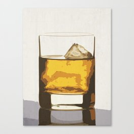 Old Scotch Whiskey Canvas Print