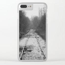 Ohio Tracks Clear iPhone Case