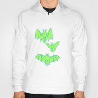 bats Hoodies featuring Bats by idrewthestars