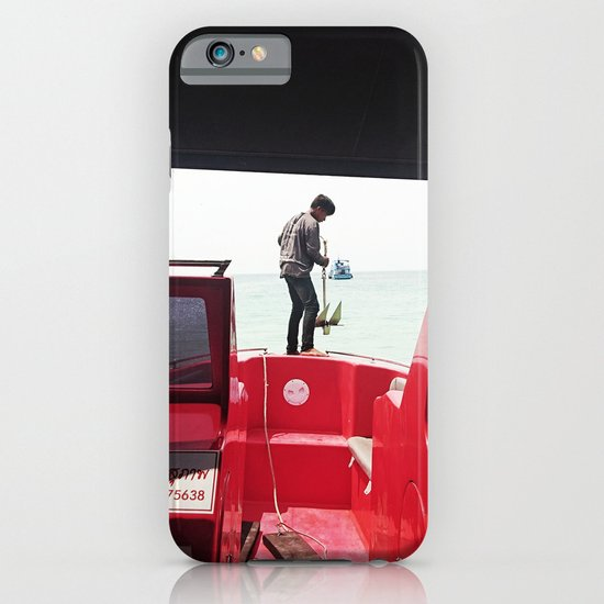 Dropping Anchor iPhone & iPod Case