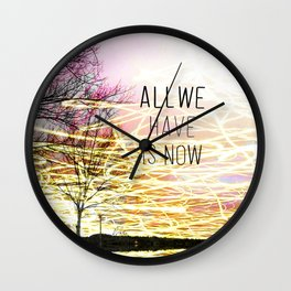 Unexplored Avenues by Debbie Porter Wall Clock