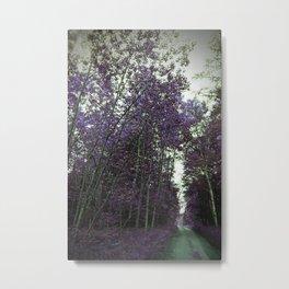 A Purple Path Metal Print