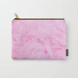 Pink Pink Soft Touch Carry-All Pouch