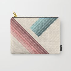 Vintage Geometric Carry-All Pouch