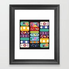 Bbbbbangle Framed Art Print