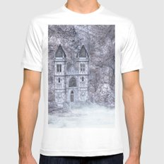 Castle MEDIUM Mens Fitted Tee White